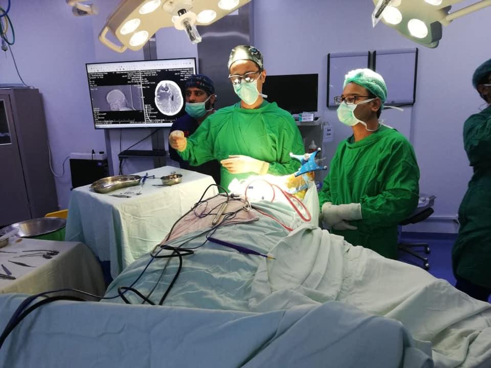 Redo Brain tumour surgery