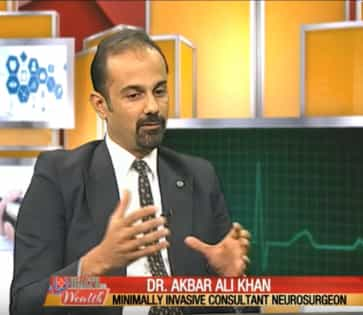 Dr Akbar Talking About Minimally Invasive Neurosurgery on PTV