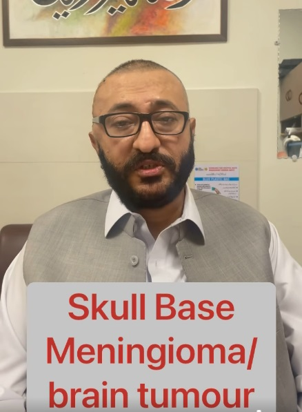 Skull base tumour